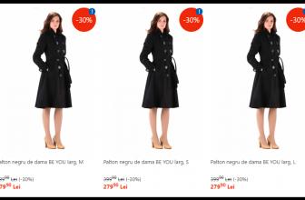Paltoane dama ieftine pentru sezonul rece
