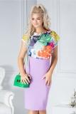 Bluza Simoneta cu imprimeu multicolor