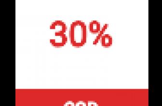 30% reducere cu voucher cadou