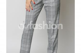 Pantalon Claris Gri Office Elegant, colectia 2018