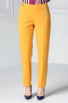 Pantalon Narcisa galben office