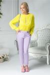 Pantaloni Luana office lila