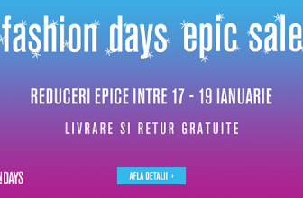 Reduceri Fashion Days Epic Sale 2020